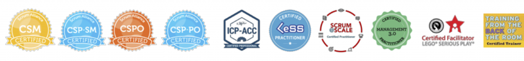 Christoph Moser Certifications